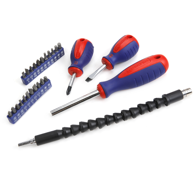 WORKPRO  49PC Screwdriver Set  New Arrival Screwdrivers Precision Screwdriver for Phone Test Pencil 6