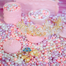 100 pcs/lot Vintage Lovely Simulated Pearl Multiple Specifications Mixed DIY Decoration Photos Background for Photography Props