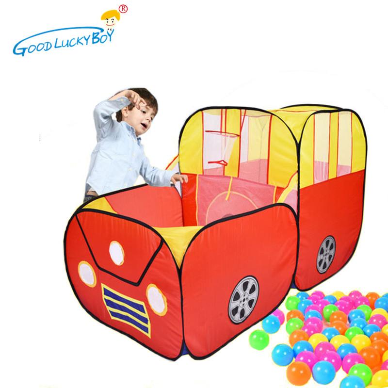 jugar tnel carpa beb bola piscina al aire libre de interior de dibujos animados de coches