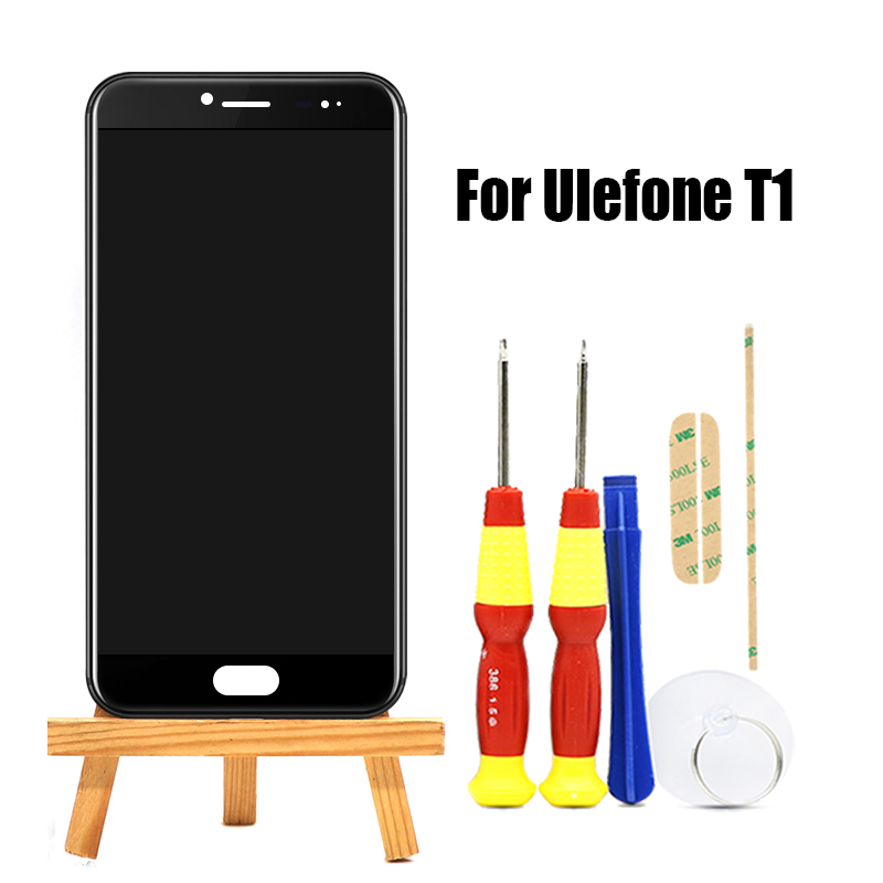 Original For 1920X1080 LCD Display 5 5 inch Touch Screen Frame Assembly Repair Part For Ulefone