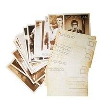 Tarjetas de visita de dibujo de estrellas de película Vintage para mujer, conjunto de 32 unidades por paquete, tarjeta postal para mujer y adulto, tarjeta navideña de regalo, tarjetas de felicitación