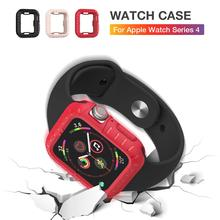 New Applicable To Apple Iwatch4 Generation Protective Shell Ultra-thin Anti-drop Soft Silicone Iwatch 4 Watch Case 40/43mm