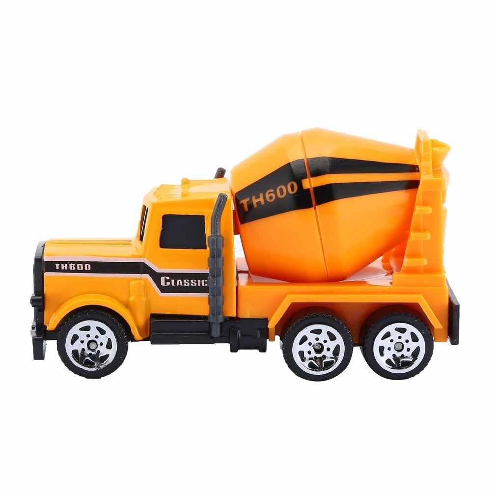 Mini Paduan Teknik Mobil Model Traktor Mainan Dump Truk Model Klasik Mainan Kendaraan Kecil Hadiah Ulang Tahun untuk Anak Laki-laki