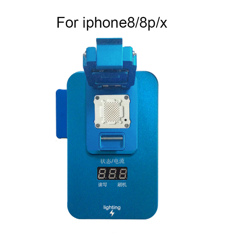 PCIE NAND Flash IC Programmer Disk Test Tool Fix Repair Free HDD Chip Serial Number SN For iPhone 8/8p/x 2017 version pcie nand flash chip programmer tool kits machine fix repair hdd ic serial number for iphone 5se 6s 7 plus ipad pro