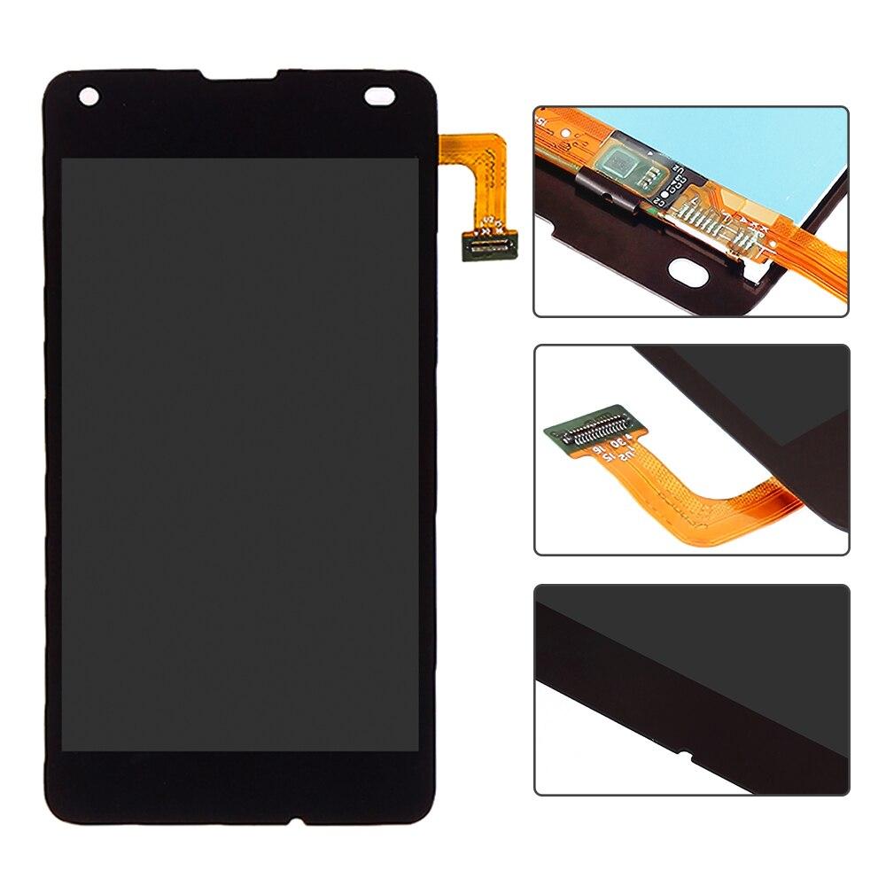"imágenes para 5.0 ""Microsoft Negro Para Nokia Lumia 550 Pantalla LCD Táctil Digitalizador Asamblea Completo Piezas de Recambio Envío Gratis"