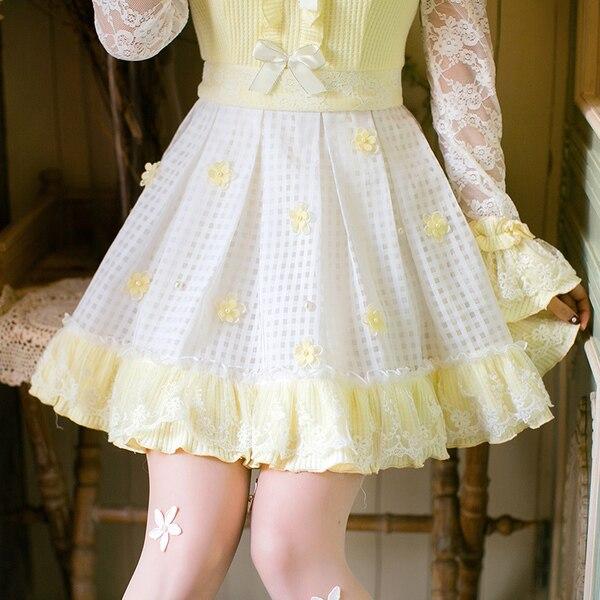 เจ้าหญิงsweetโลลิต้าdress candy rainลูกไม้สดขนาดเล็กdressหญิงญี่ปุ่นsweetบางเจ้าหญิงปกdress c22ab7006-ใน ชุดเดรส จาก เสื้อผ้าสตรี บน   2