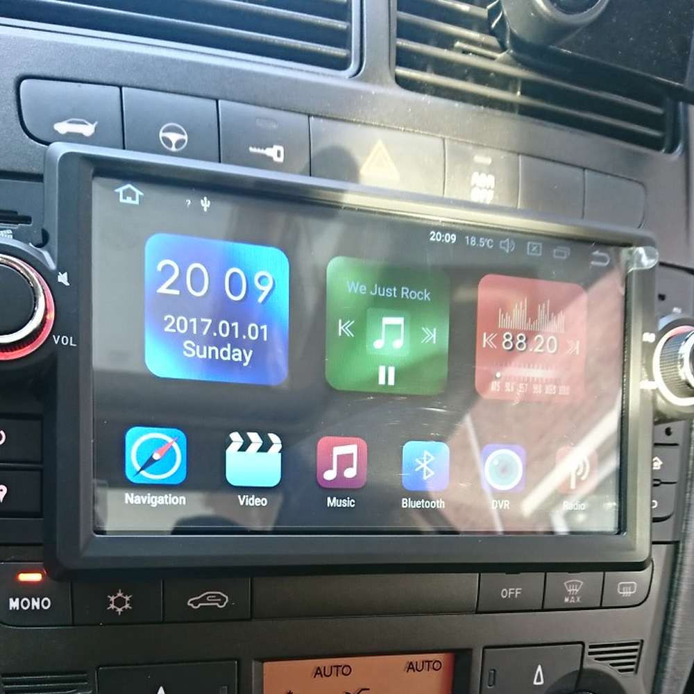 Android 8.0 Octa Core 4G RAM 32G ROM GPS Navigation 7 Car DVD Multimedia for Fiat Grande Punto/Linea 2007 12 with Radio/BT/RDS