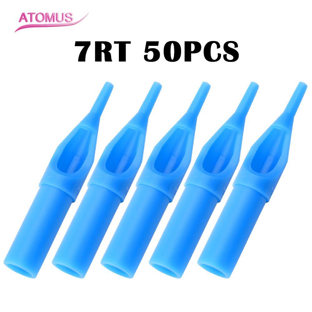 Kualitas Tinggi 50 Pcs 7rt Ujung Nosel Tato Biru Tips Lotus E Elegant Pohon Tirai Pintu Magnet Anti Nyamuk Perlengkapan Terpisah Dikemas Untuk Jarum Aksesori Gratis Pengiriman