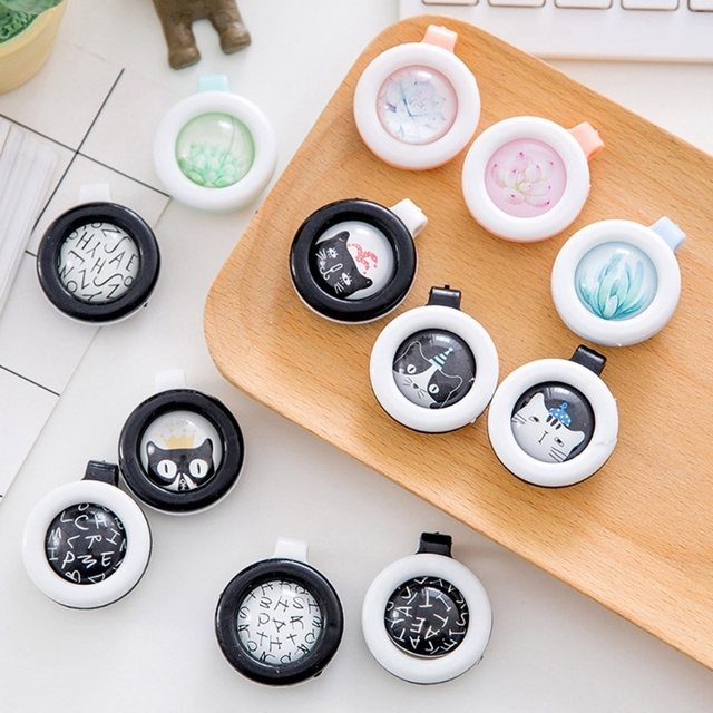 Buckle Mosquito Button Repellent