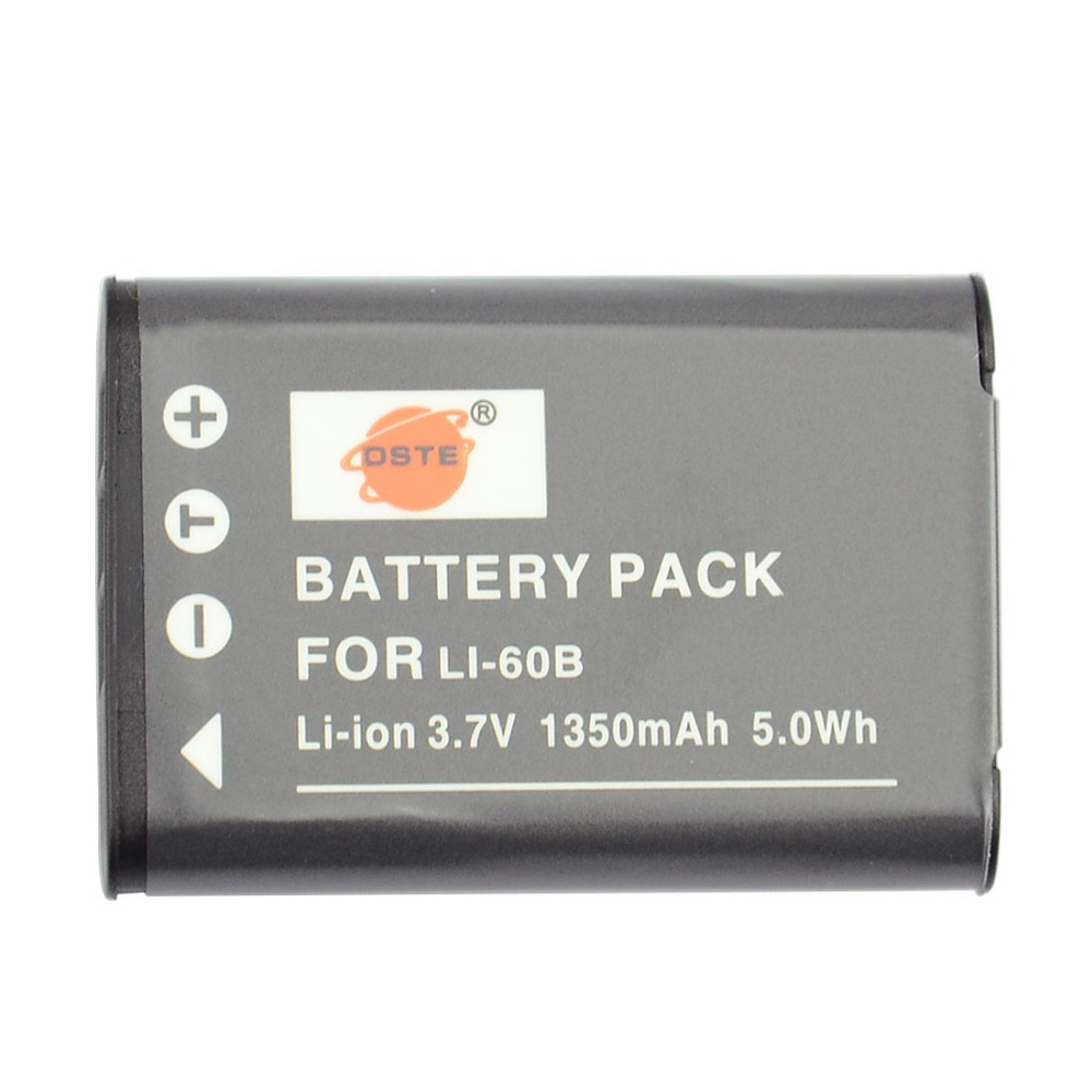 Dste 3pcs Li 60b Rechargeable Battery For Olympus Pe 370 Nikon Wiring Diagram Ste Coolpix S550 S560 Pentax Optio M50 W60 Ricoh R50 Camera In Digital Batteries From Consumer