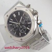 Парнис Для мужчин s часы лучший бренд полный нержавеющей стали Роскошные Для мужчин Военная мода Дата наручные кварцевые часы Relogio Masculino
