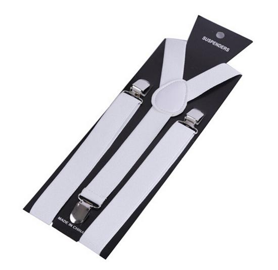 More Color For Choose New Mens Womens Unisex Clip-on Suspenders Elastic Y-Shape Adjustable Braces Colorful- 0055 8