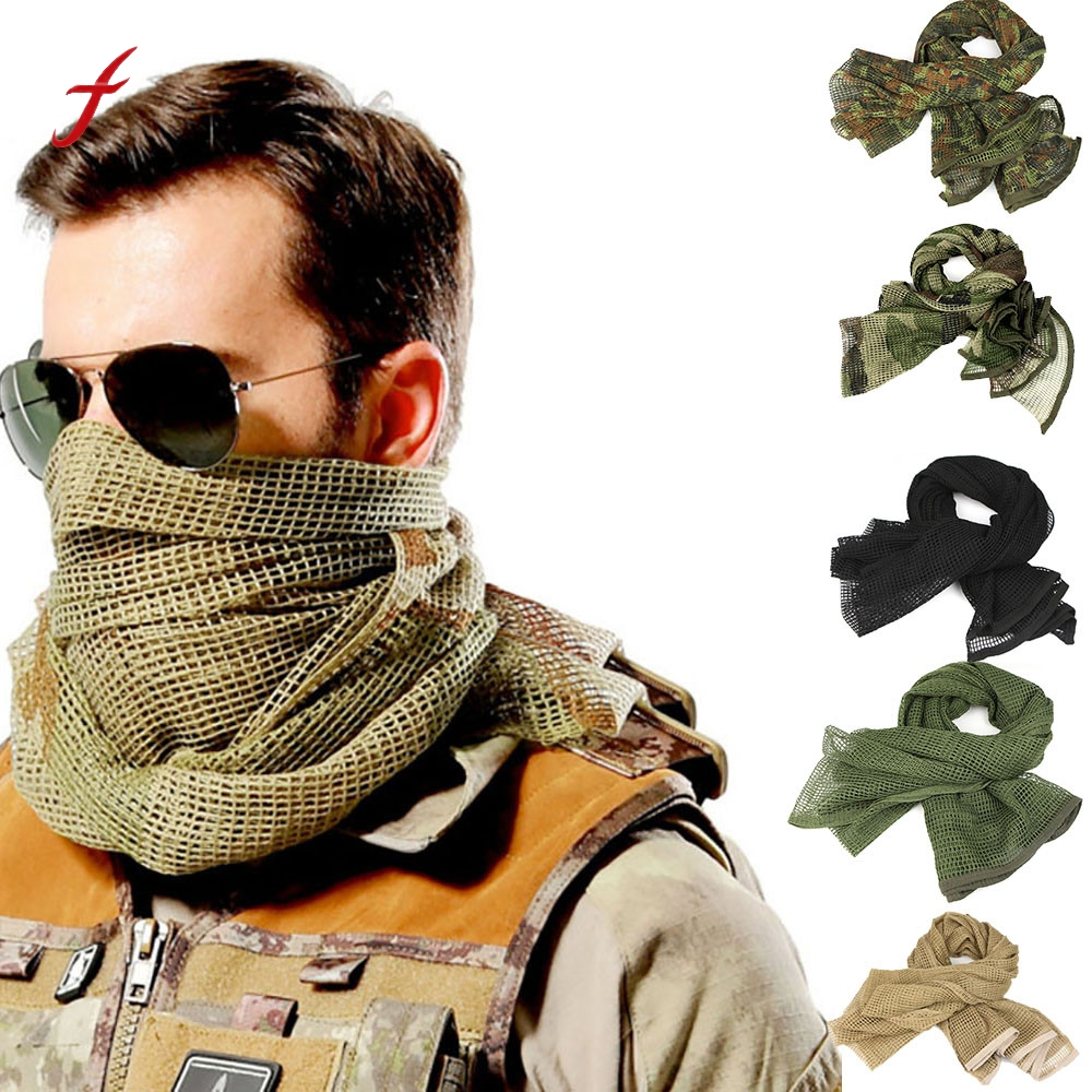 Army Military Tactical Arab Shemagh Keffiyeh Cotton Shawl -3208