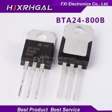 100PCS BTA24-800B BTA24-800 TO-220 TO220 BTA24