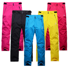 2016 New High Quality Winter Women Outdoor Hiking Warm Softshell Pants Skiing Snowboard Trousers Camping Climbing Breath Snow