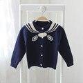2017 весной и осенью новый новорожденных девочек кардиган свитер ребенка свитер свитер детей