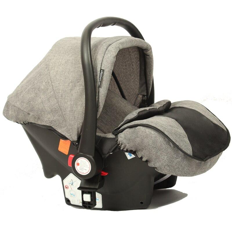 Wisesonle cochecito de bebé 2 en 1 cochecito mintiendo o amortiguador plegable luz peso dos-de niño de cuatro estaciones de Rusia envío Gratis - 5