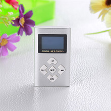 Best price!!!USB Mini MP3 Player LCD Screen Support 2/4/8GB Micro SD TF Card Free Shipping H10T2