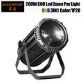Gigertop Новый TP-CPAR200Z 200 Вт COB RGB цвет 3в1 Led Zoom Par Light DMX контроль не водонепроницаемый IP20 5/6/7/12CH канал