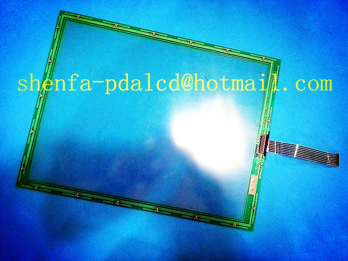 N010-0550-T622 10.4inch 7wires Injection molding machine touch screen panel glass free shipping
