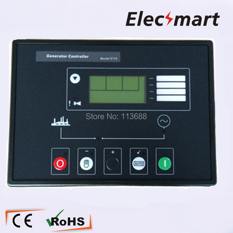 Deep Sea Generator Controller Module LCD Display DSE5110 free shipping deep sea generator set controller module p5110 generator control panel replace dse5110