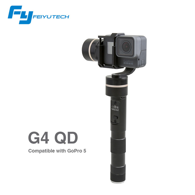 FeiyuTech official store ! FY update version for gopro camera / FY-G4 QD 3 Axis gimbal for handheld gimbal