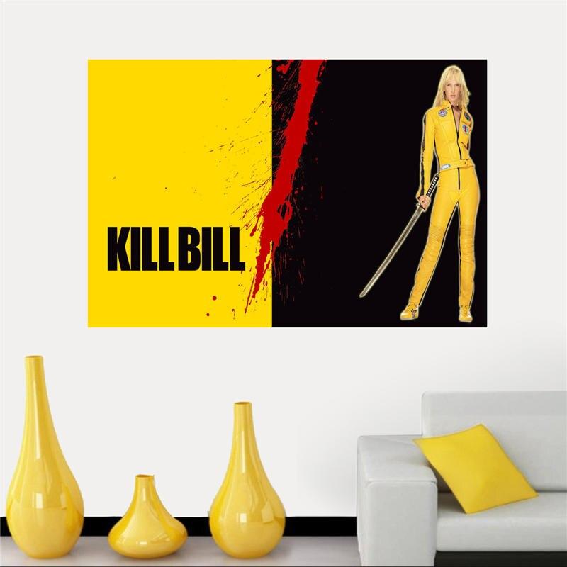 Kill Bill Fabric Wall Poster
