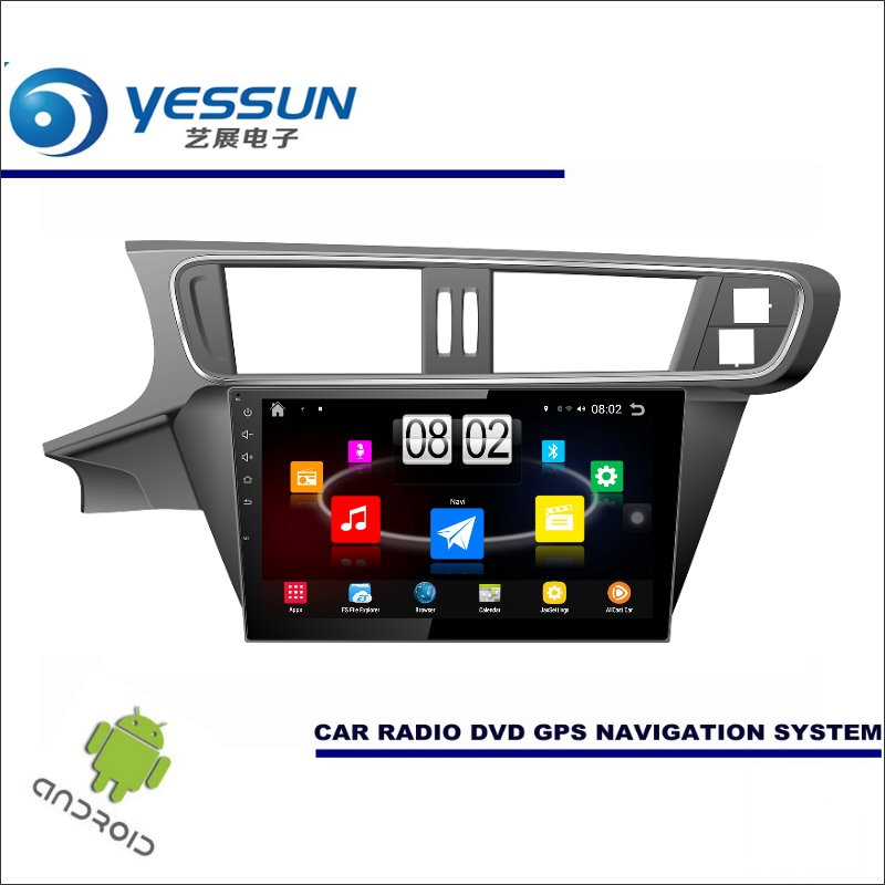 YESSUN Car Android Player Multimedia For Citroen C3 XR / C3 XR 2015~2017 Radio Stereo GPS Navi Map ( no CD DVD ) 10.1 HD Screen
