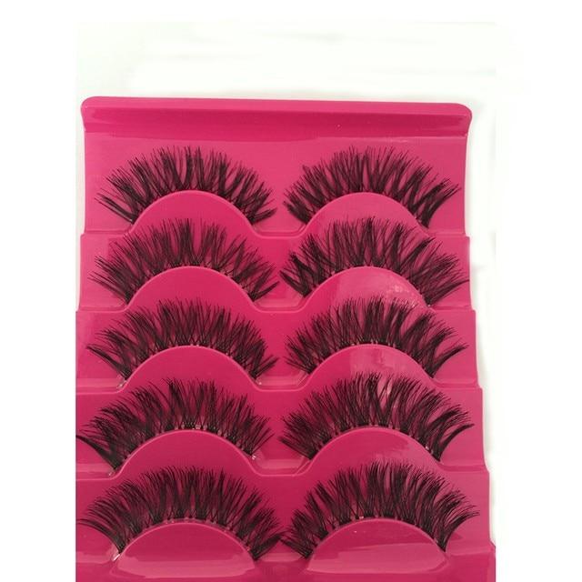 Natural Fashion Eyelashes Eye Makeup 1