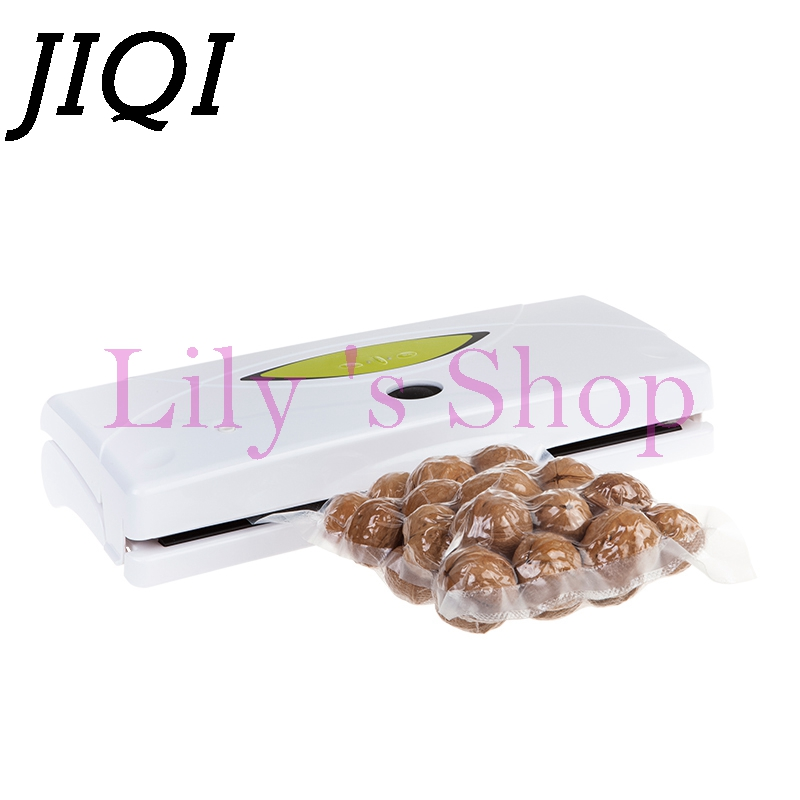 Household Food Vacuum Sealer electric Packaging Machine Film Vacuum Packer Sealing for wet dry 110V 220V 10Pcs Bags EU US plug 220v 220v full automatic electric vacuum sealing machine dry and wet vacuum packaging machine vacuum food sealers