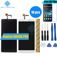 10 PCS For Oukitel K6000 Pro LCD In Mobile Phone LCD Display And TP Touch Screen