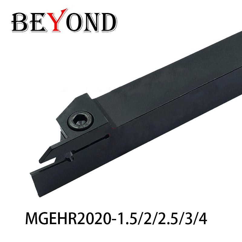 BEYOND FREE SHIPPPING MGEHR MGEHR2020-1.5 MGEHR2020-2 MGEHR2020-2.5 MGEHR2020-3 MGEHR2020-4 Turning Lathe Tool Holder Boring Bar