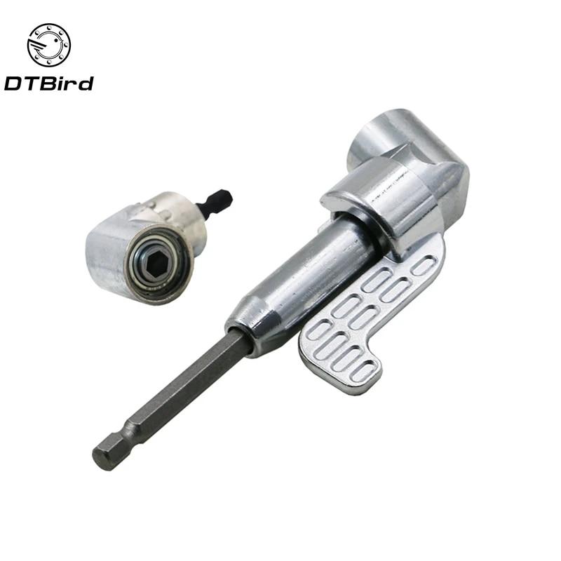 105 Degree Angle Hex Extension Drill Bit Screwdriver Socket Holder Adapter BT3