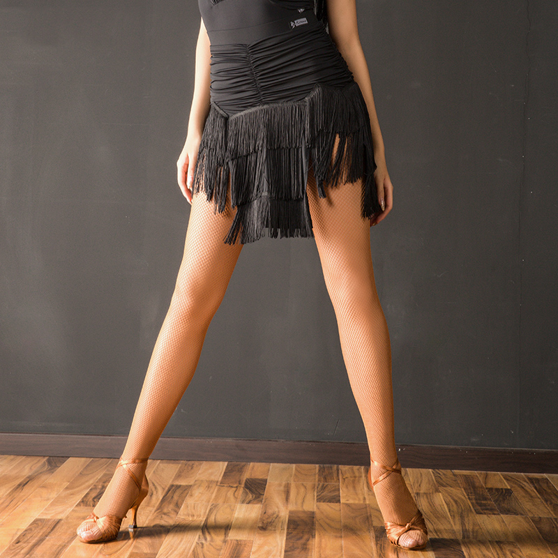 New Latin Dance Skirt Women Ladies Samba Salsa Practice Performance Dancing Clothes Sexy Tassel Fringe Skirt Costumes DQS1560