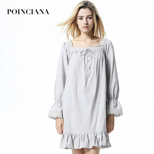 Nightgown Female Dressing Gowns For Women 2018 Autumn And Winter ...
