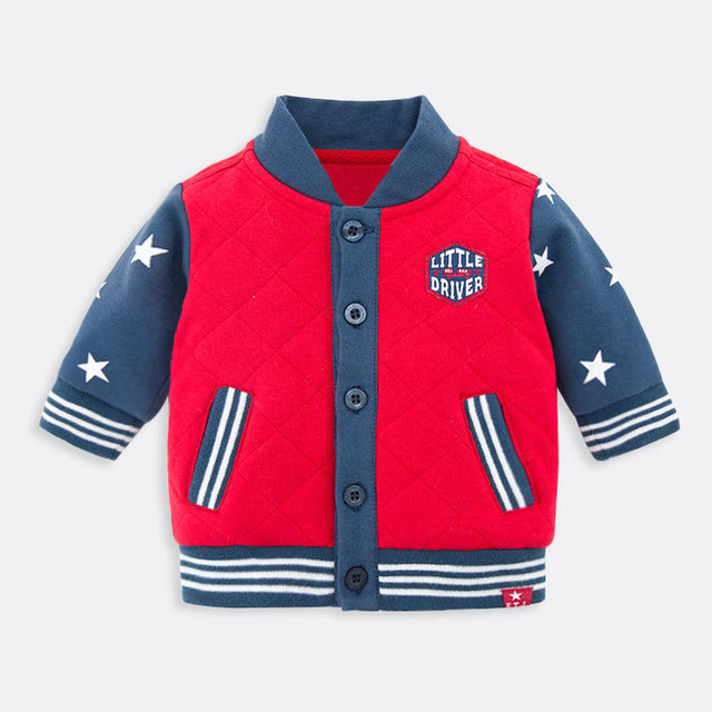 Babys Boys Coats Fit 12-24M Infant Casual Jacket Fashion Spring Outfit Clothing For Baby Wear Brand Quality SY9010