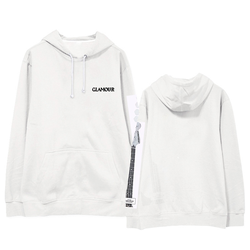 Wanna one2018 new men and women hooded loose Korean spring and autumn plus velvet students Hooded sweatshirt.