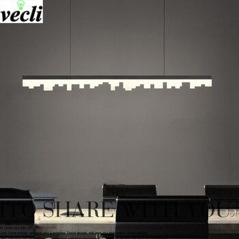 LED kronleuchter moderne esszimmer hängeleuchten Bar Cafe suspension  leuchte home deco leuchten wohnzimmer lampen
