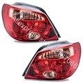 Luzes da cauda par se encaixa mitsubishi outlander/airtrek 2005 2006 lâmpadas traseiras set esquerda + direita-vermelho