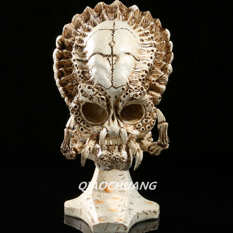 Aliens VS Predator Statue Predator 1:4 Bust Sea Crab Skull Flower Crab Head Portrait Alien Figure Collectible Model Toy W241