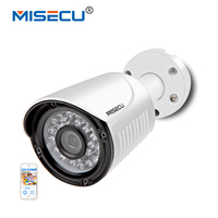 MISECU Hi3516C SONY IMX322 IP Camera Waterproof Metal 2 0MP 1920 1080P Full HD 25fps Motion