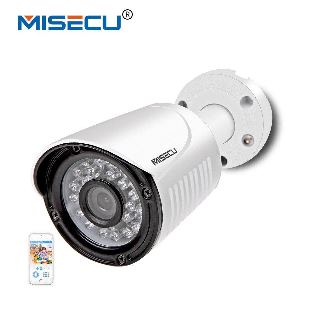 MISECU Hi3516C SONY IMX322 IP Camera Waterproof Metal 2 0MP 1920 1080P Full HD 25fps Motion