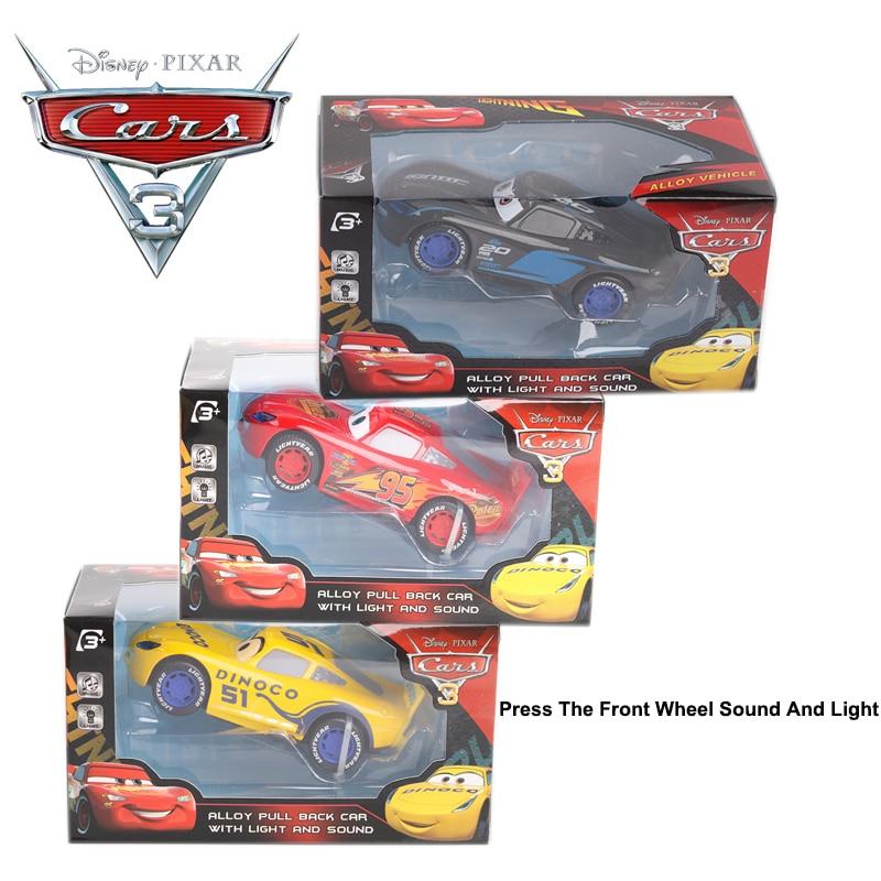Cars 2 Lights Sounds Lightning: Large Disney Pixar Cars 3 Metal Black Storm Jackson