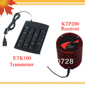 Sistema de gestión para notifing clientes su servicio es listo w 1 TKT100 de una sola tecla transmisor y 5 KTP200 receptor
