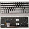 Новая Оригинальная клавиатура с подсветкой для ноутбука HP Spectre X360 13-4003DX 13T-400013-4000  настоящая сменная клавиатура X360