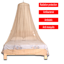 Family Size Anti radiation EMF Shielding Mosquito Net With Silver Fiber Mesh Material