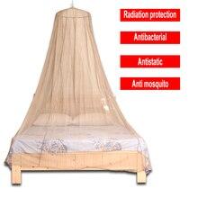Moustiquaire Anti radiation, protection EMF, avec matériau en maille en Fiber dargent