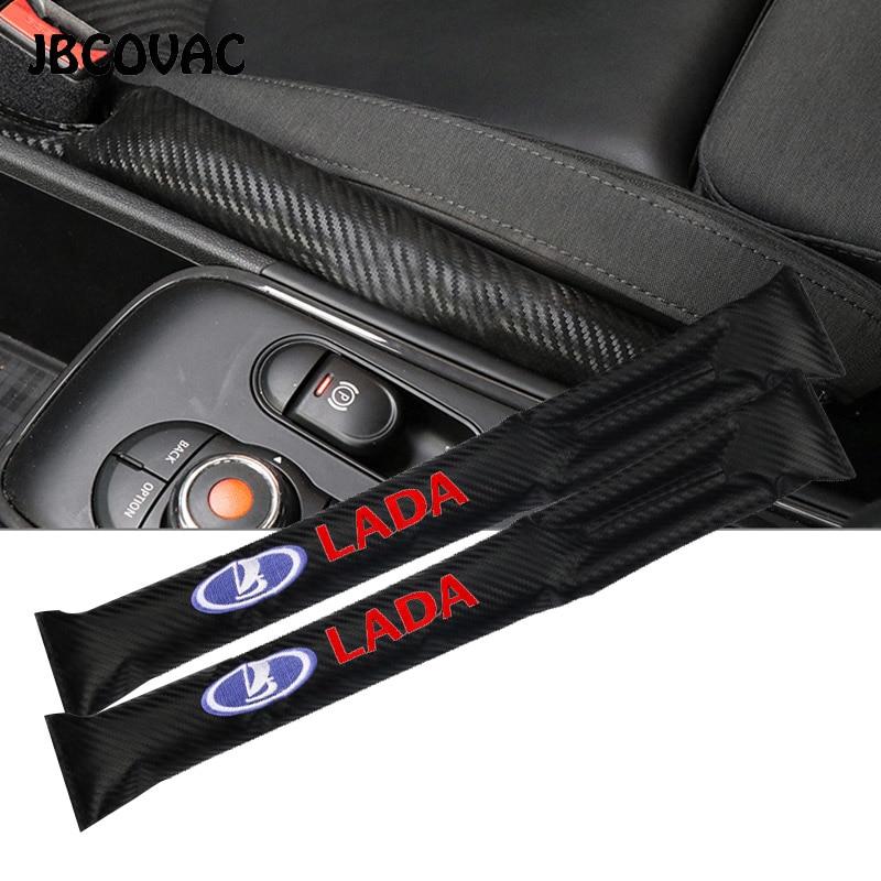 Car Styling Seat Gap Pad Filler Leakproof Covers Auto Accessories Case For Lada Niva Kalina Priora Granta Largus Vaz Samara 2110