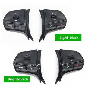 Image 4 - Рулевое колесо громкости музыки кнопки управления коммутатором с Bluetooth телефон звук для подсветки для KIA 2012 новый RIO K2