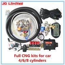 Плита 6 цилиндров BC300 полный комплект Пропан Метан LPG CNG конверсионные комплекты для автомобиля ECU комплекты+ редуктор+ инжектор+ аксессуары без бензобака